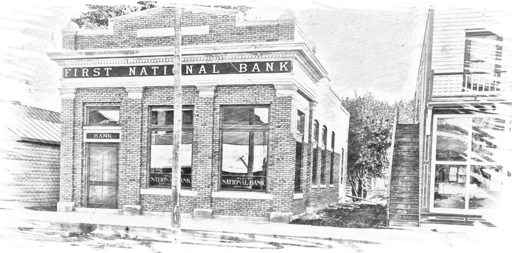 First National Bank, Cedar Rapids, Nebraska