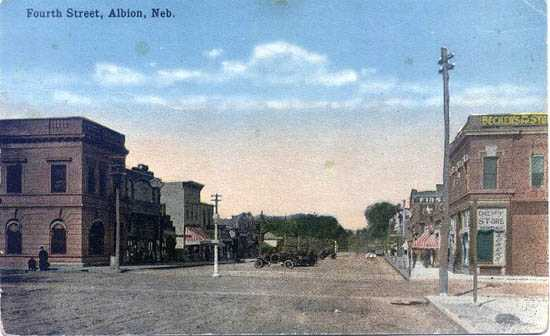 Fourth Street, Albion, Nebraska