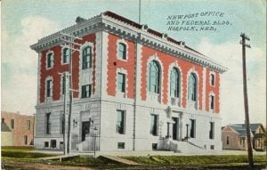 New Post Office and Federal Building, Norfolk, Nebraska