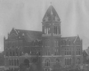 Original Boone County Courthouse